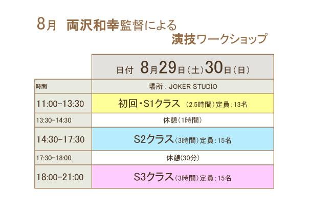 【7月演技WS】クラス分け - コピーのコピー
