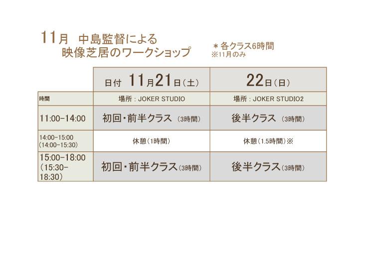 【11月演技WS】クラス分け - コピーのコピー